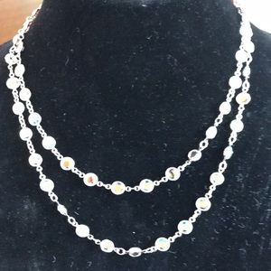 "NWT AB Chanelle Necklace 36 "" Touchstone"